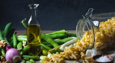 substitute olive oil for butter
